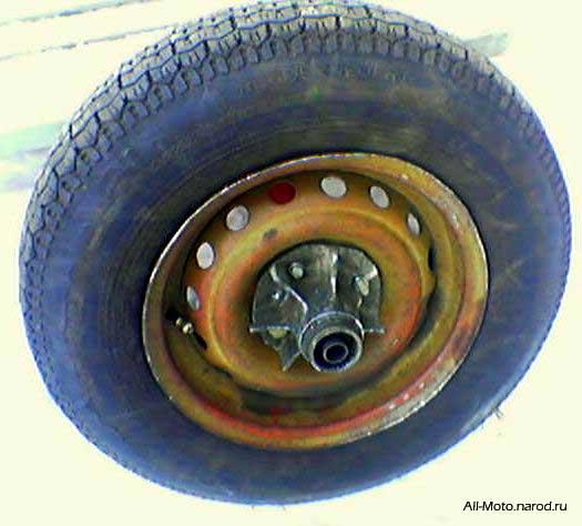Как сделать задние колеса шире 379